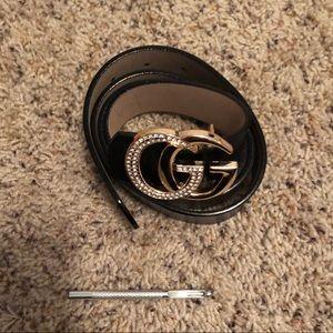 GG belt (not Gucci)